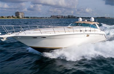 Catalina private charter on searay 500 sundancer yacht