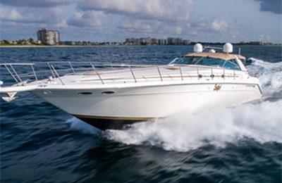 Catalina private charter on searay 500 sundancer yacht