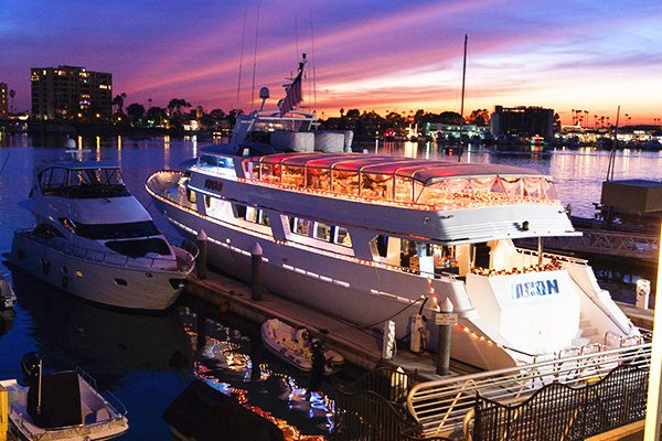 Megayacht party Newport Beach Yacht charter and boat rental