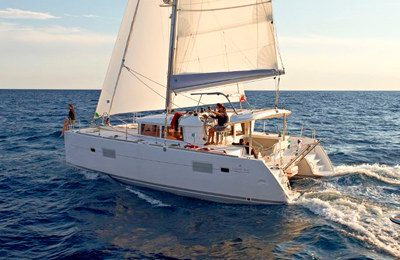 marina del rey yacht rental 40' catamaran charter