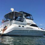 Searay 420 motor yacht charter los angeles