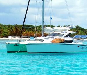Catamaran sailboat charter San diego