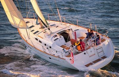 marina del rey los angeles yacht rental boat charter 48' sailboat charter
