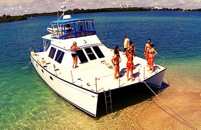 catamaran miami yacht charter and boat rental