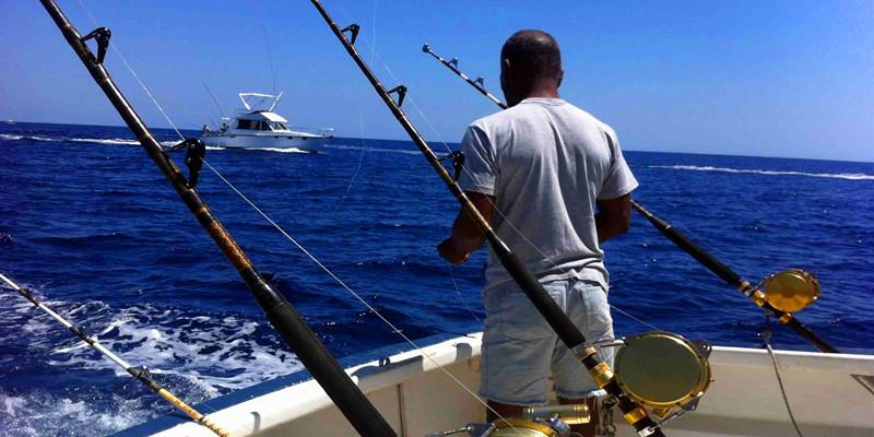 Deepsea fish charter onboat inc for Deep sea fishing marina del rey