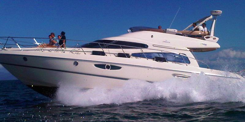 Cranchi 50 Yacht Charter Miami Florida Onboat Inc