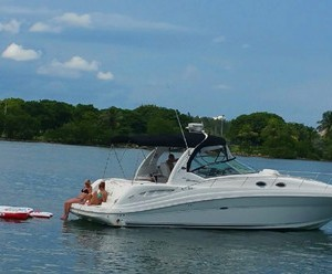 Searay 37 yacht rental and charter Miami Florida