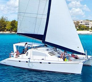 Miami yacht charter & boat rental 47' catamaran for hire