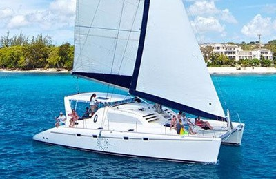 Miami yacht charter & boat rental 47' catamaran for hire