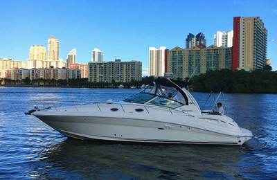 miami boat rental searay37 small yacht charter