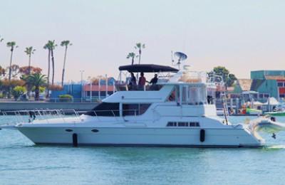 Marina del rey yacht charter & boat rentals 50' motor yacht charter