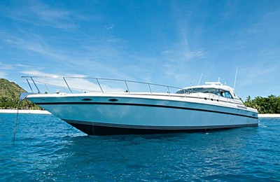 cancun power boat rental searay 630 yacht charter