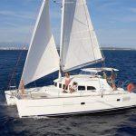 marina del rey lagoon 380 catamaran yacht charter