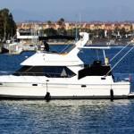 los angeles marina del rey boat charter yacht rental bayliner power boat