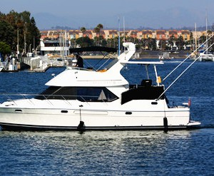los angeles marina del rey boat charter yacht rental bayliner power boat