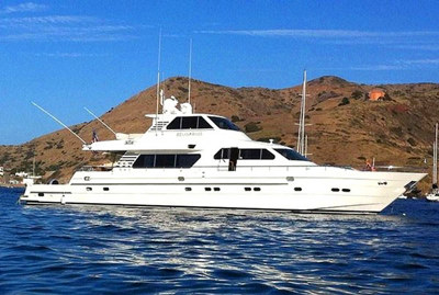 Onboat inc lux 92 horizon yacht for Motor boat rental san francisco