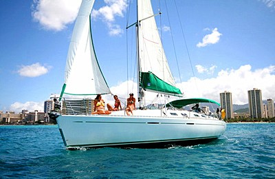 honolulu boat rent yacht charter beneteau 39 sailboat