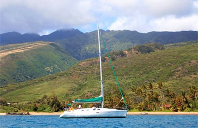 honolulu boat rent yacht charter 43 beneteau sailboat