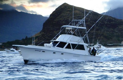 honolulu deep sea fishing 41 boat charter
