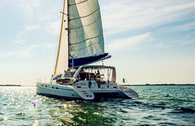 key west yacht rental boat charter 42 feet leopard catamaran