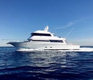 los angeles marina del rey yacht rentals 75' motor yacht charter