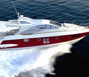 newport beach yacht rental boat charter 43' azimut sports yacht