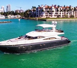 miami yacht rental boat charter 65' princess motor yacht rental