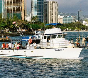 Onboat inc private sports fishing charter honolulu for Honolulu fishing charters