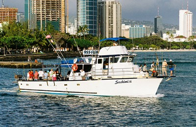 honolulu oahu private sports fishing charter