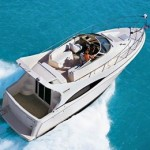 Los angeles burial at sea on carver 360 motor yacht