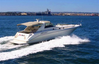 San diego yacht charter rentals searay 500 charter