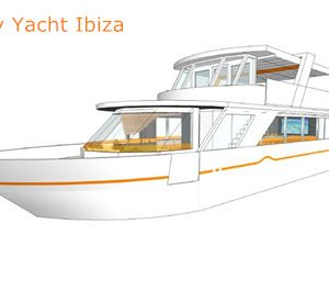 los angeles party yacht rental IBIZA 75' yacht charter