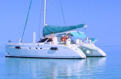 san francisco yacht rental 43' catamaran charter