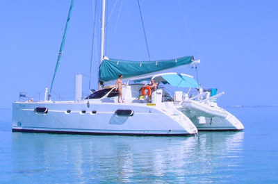 san francisco yacht rental 43' catamaran charter
