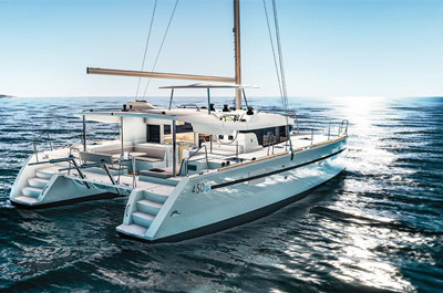 san francisco yacht rental lagoon 450 catamaran charter