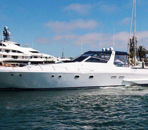 marina del rey yacht rental los angeles boat charter 60' express cruiser rental