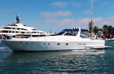 marina del rey yacht rental los angeles boat charter 60' express cruiser rental