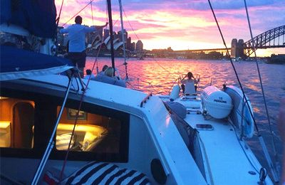 sydney harbor yacht rentals 50 feet catamaran charter