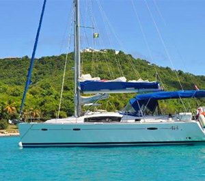 miami yacht rentals 40' beneteau sailboat charter