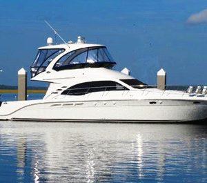 miami yacht rentals 46 feet searay motor yacht charter