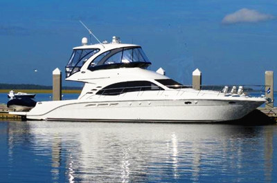 Onboat inc private 46 sea ray motor yacht charter for Motor boat rental san francisco