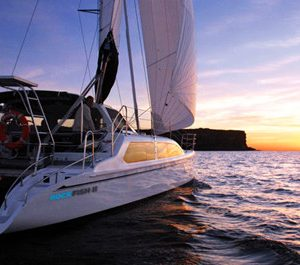 Sydney harbor yacht for hire 35 feet catamaran charter