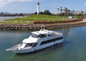 los angeles party yacht rental IBIZA 75' party yacht charter