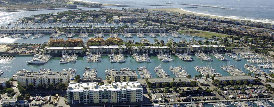 Marina del rey yacht rental service