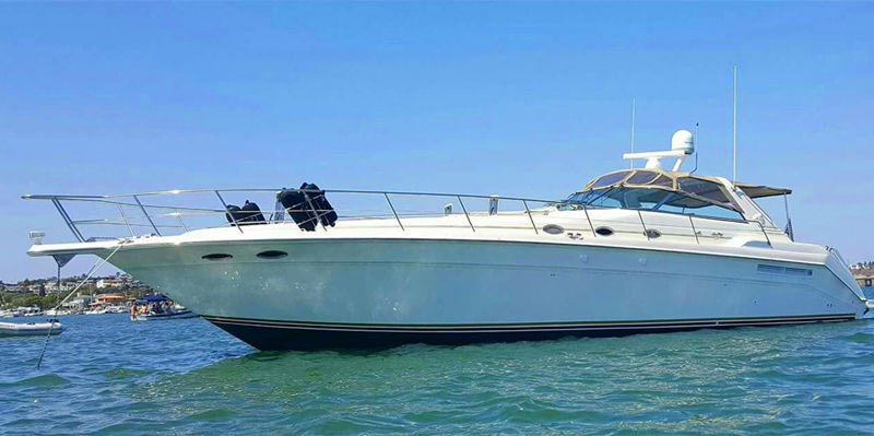 Lux Searay 500 Yacht   OnBoat Inc