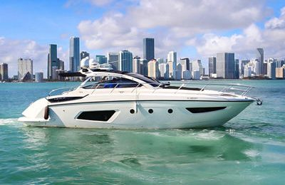 miami yacht rental 44' azimut atlantis yacht charter