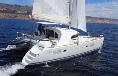 marina del rey yacht charter lagoon 380 catamaran rental