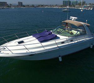 marina del rey yacht rental searay 400 sundancer charter