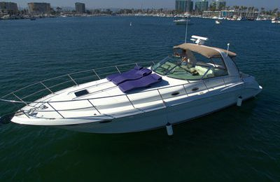 marina del rey yacht rental searay 400 sundancer charter