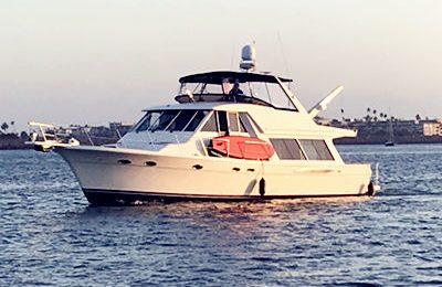 marina del rey yacht charter meridian 53' yacht rental